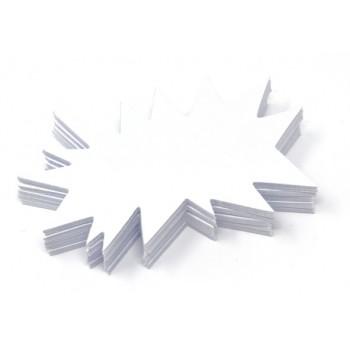 Flash - 50 Segnaprezzi Cartoncino - Bianco