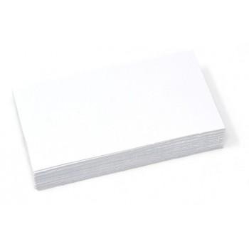 Rettangolo 9X5 - 50 Segnaprezzi Cartoncino - Bianco