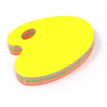 Tavolozza - 50 Segnaprezzi - Fluo Assortiti
