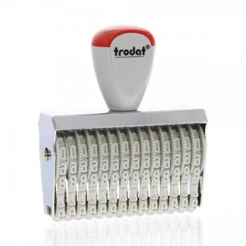 Timbro numeratore manuale 14 colonne 5 mm
