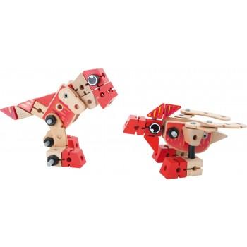 Set costruzioni Dino 2 in 1
