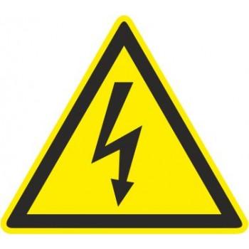 Adesivo Pericolo elettrico - 1 Etichetta