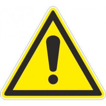 Adesivo Pericolo generico - 1 Etichetta