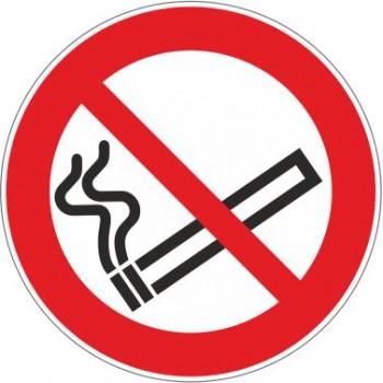 Adesivo Vietato Fumare Tondo - 1 Etichetta