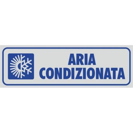 Aria condizionata - 1 Etichetta