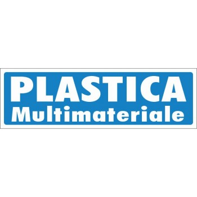 Multimateriale - Adesivo Rifiuti Differenziata - 1 Etichetta
