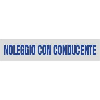 Noleggio con conducente (NCC) 9x1,5 - 1 Etichetta