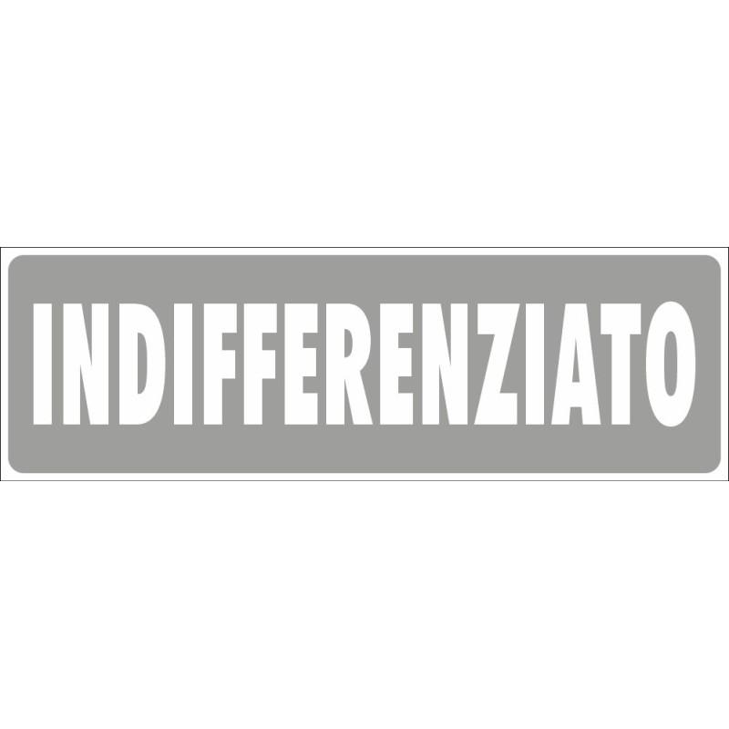 Residuo - Adesivo Rifiuti Differenziata - 1 Etichetta