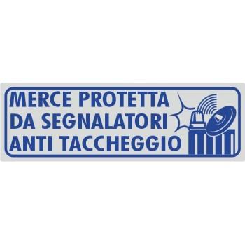 Segnalatori Antitaccheggio Argento - 1 Etichetta