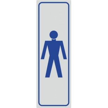 Toilette Simbolo Uomo - 1 Etichetta