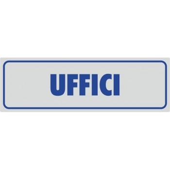 Uffici Adesivo Argento - 1 Etichetta