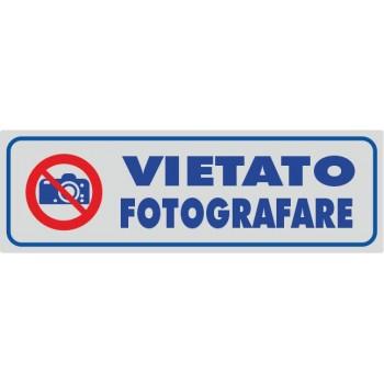 Vietato fotografare Argento - 1 Etichetta