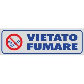 Vietato Fumare Argento - 1 Etichetta