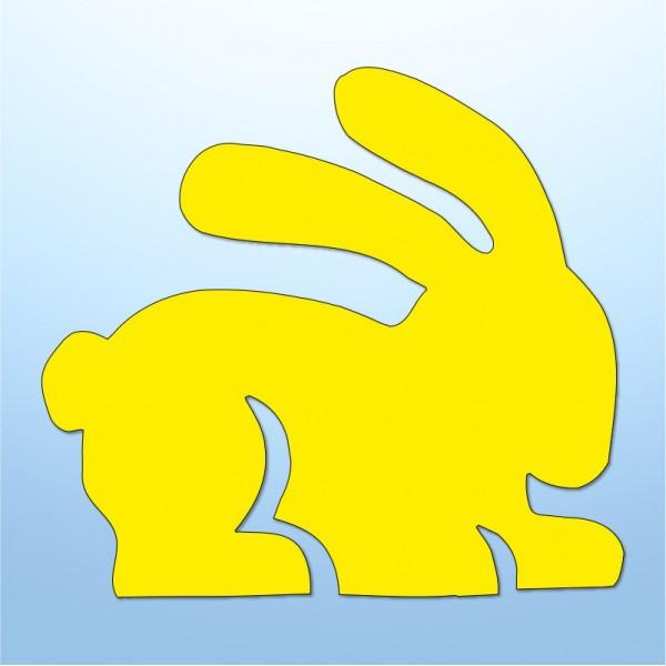 Mini adesivi coniglietti - 5 pezzi