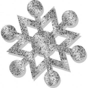 Fiocco Neve Brillante - 5 fiocchi