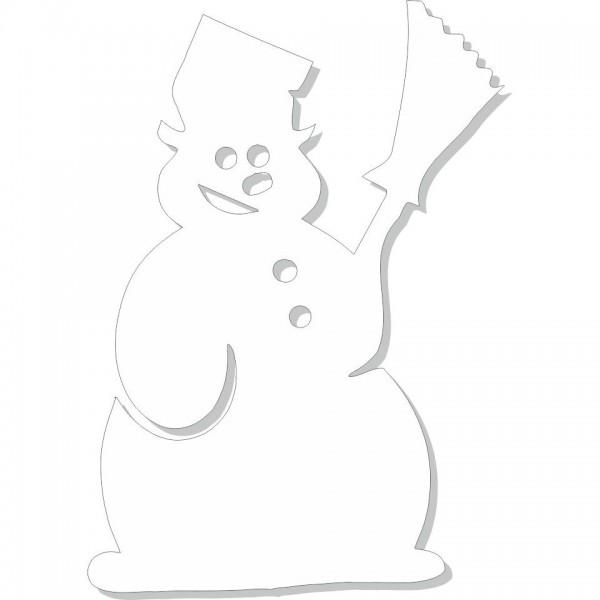 Pupazzo Neve - 4 pupazzi