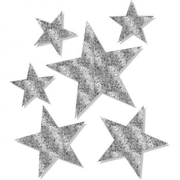 Stelle Brillanti Argento Ass - 15 stelle