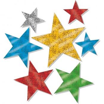 Stelline Multicolore brillanti - 15 stelle