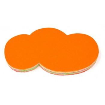 Nuvola - 50 Segnaprezzi – Fluo Assortiti