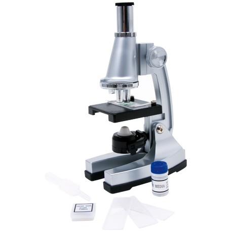 Microscopio, ca. 21 x 13 x 7 cm