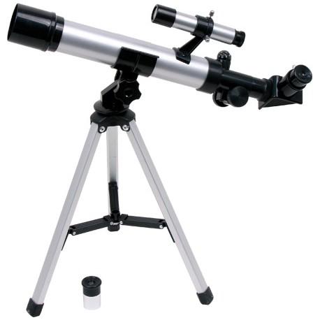 Telescopio, ca. 36 x 23 x 40 cm