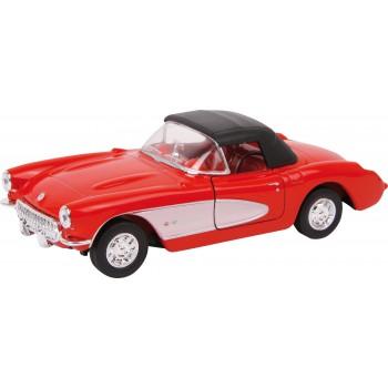 Automodello Chevrolet ´57 Corvette, ca. 12 x 4,5 x 4 cm