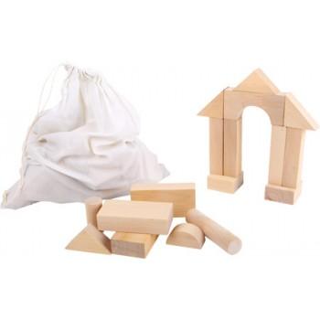 Cubetti grandi per le costruzioni, ca. 11 x 5,5 x 3 cm