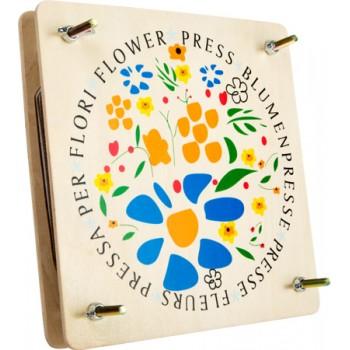 Pressa per fiori, ca. 18 x 18 x 5 cm
