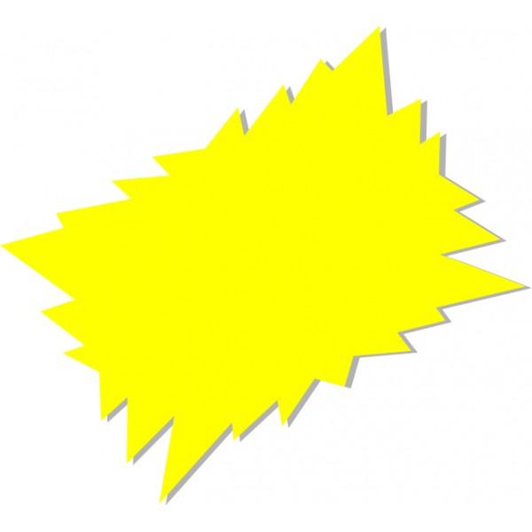 Flash - 25 Segnaprezzi - Fluo Assortiti