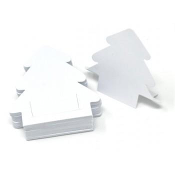 Albero Autoportante - 50 Segnaprezzi - Bianco