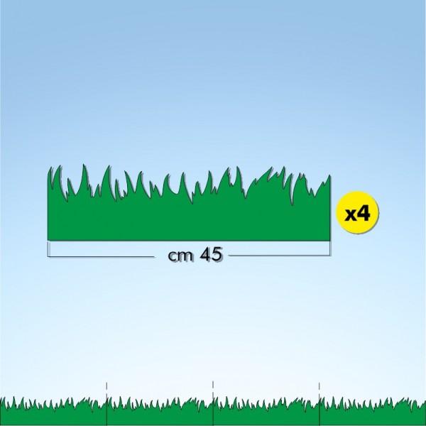 Vetrofania primavera prato, misura cm. 180x15