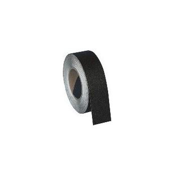 Nastro antiscivolo tipo standard, 5 cm. colore nero, idoneo per qualsiasi superficie regolare, per aree ad intenso traffico pedo