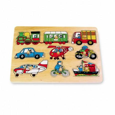 Puzzle ad incastro «Traffico», ca. 30 x 22 x 2 cm